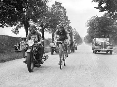 Fotografías antiguas del Tour de Francia