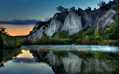 Contact - Beautiful Mountain Lake Scenery