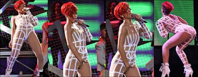 Rihannas almost naked look goes viral! - Bollywoodlife.com