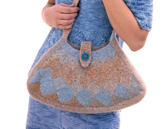 bag entrelac free pattern
