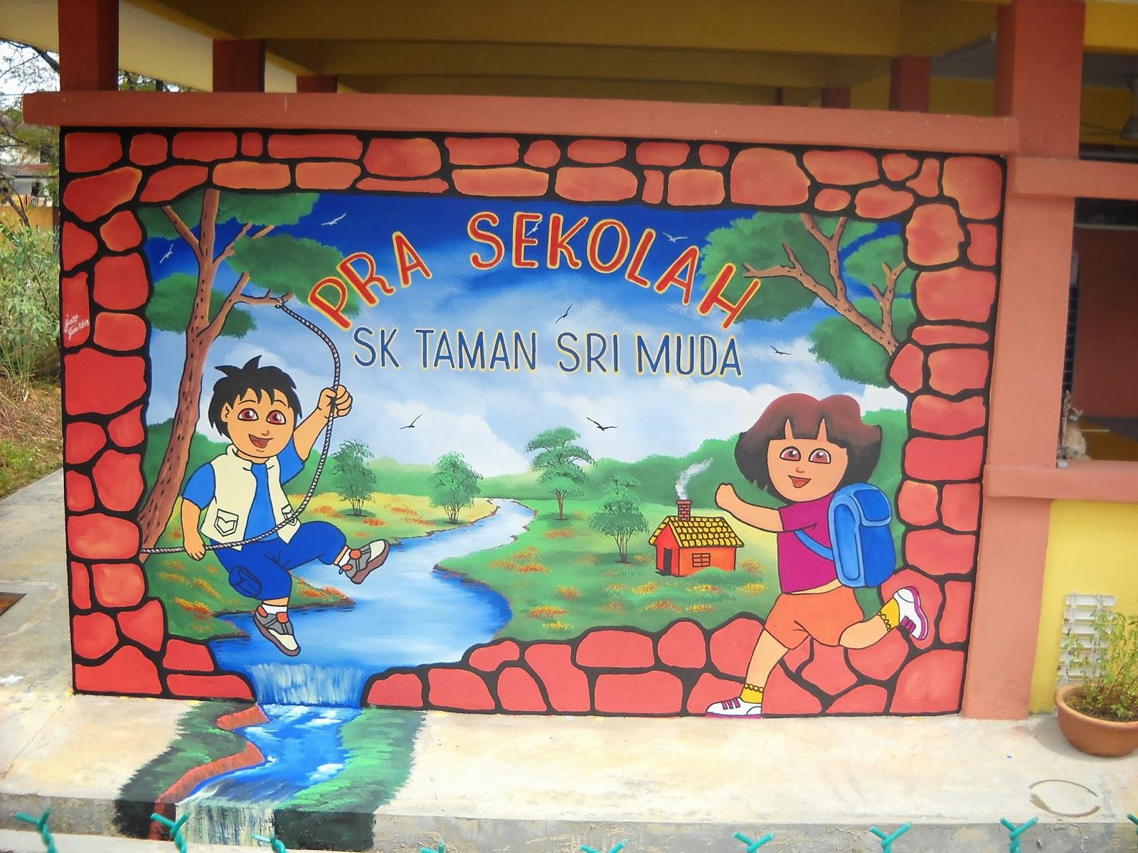 Pelukis mural shah alam sekolah keb ttdi jaya for Mural sekolah rendah