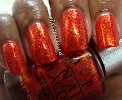 OPI Designer Series Shades For Fall 2012 Indulgence and Luxurious