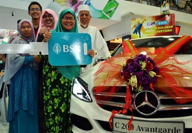 Warga Emas 73 Tahun Menang Mercedes E300 Bernilai RM300,000