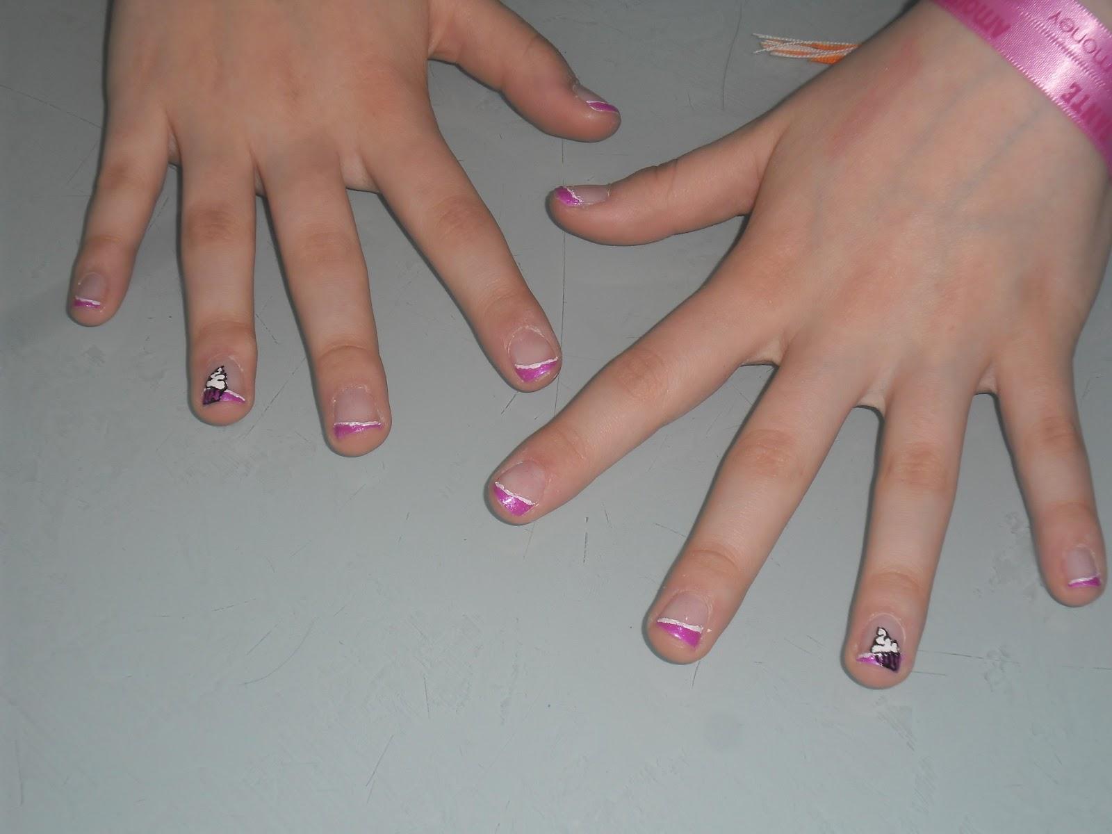 vernis deco dessiner sur ongles naturel