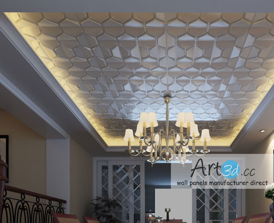 Ceiling wall design ideas with faux leather wall tiles modern ceiling wall design ideas with faux leather wall tiles dailygadgetfo Choice Image