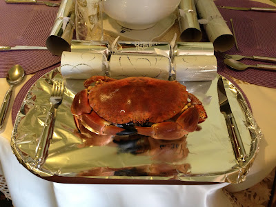 crab christmas lunch