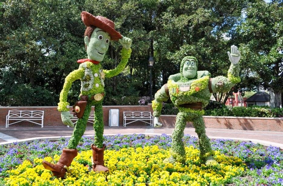 Epcot International Flower and Garden Festival Disney