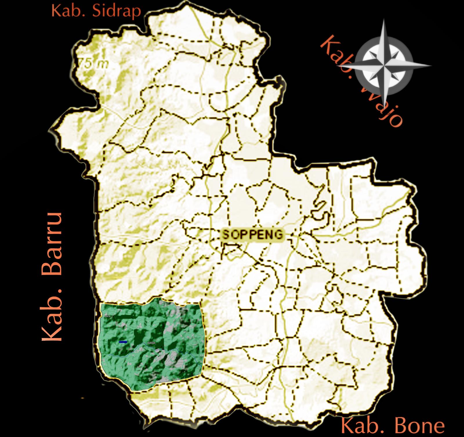 Desa Umpungeng titik tengah Indonesia