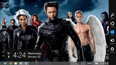 X Men Theme For Windows 8