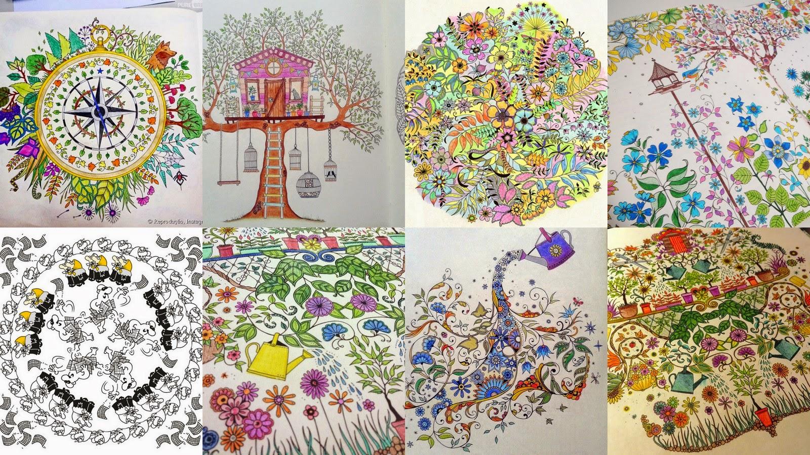 Lista tem 10 sites com desenhos para colorir e pintar online  - imagens para colorir jardim
