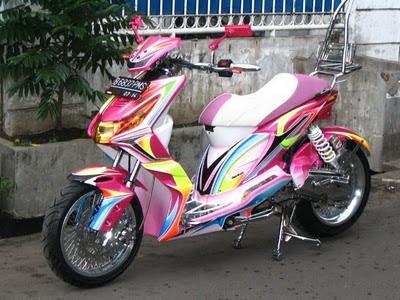 Modifikasi Honda Beat Terbaru