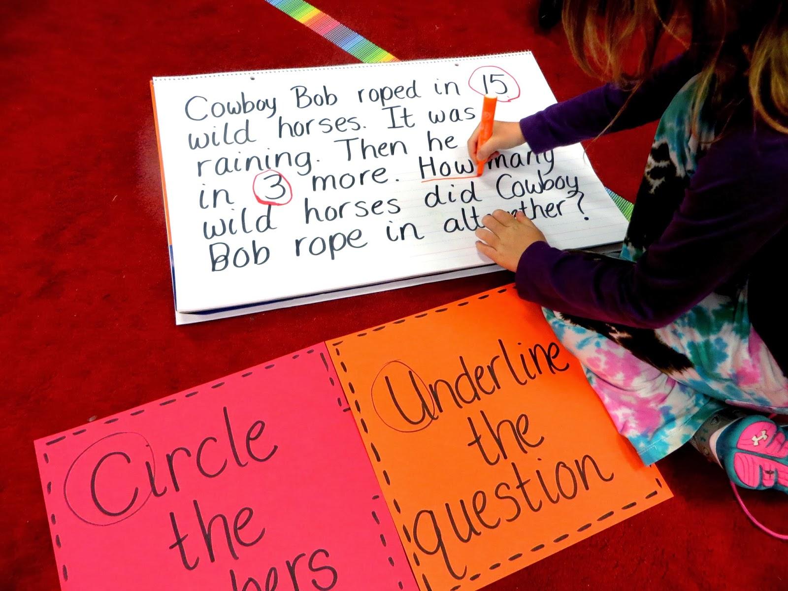 first grade critical thinking math questions