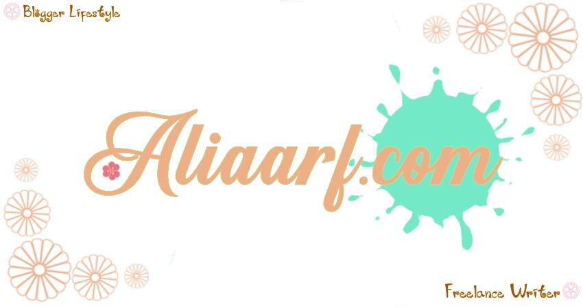 Alia Arifin Blog