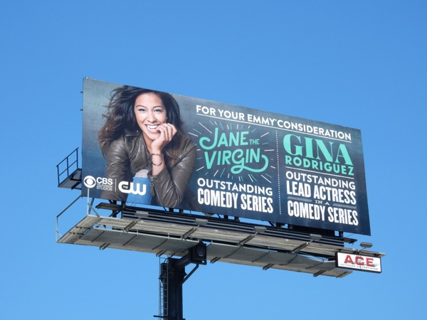 Jane The Virgin 2015 Emmy billboard