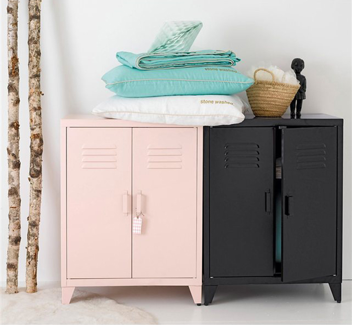 metal cupboards for kids' room from AM-PM