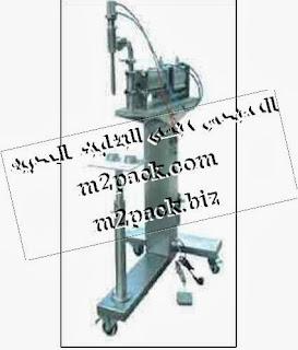ماكينة تعبئة سوائل نصف أوتوماتيكي طراز Machine M2pack 403