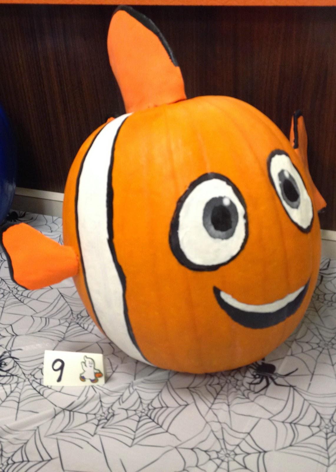 Disney Painted Pumpkin