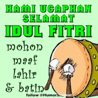 DP BBM Lucu Idul Fitri