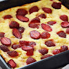 Resep Puding Roti Strawberry