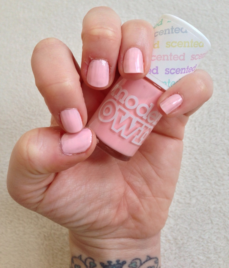 Models Own Fruit Pastel Nail Collection: Strawberry Tart