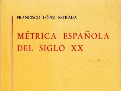 Métrica Española del Siglo XX