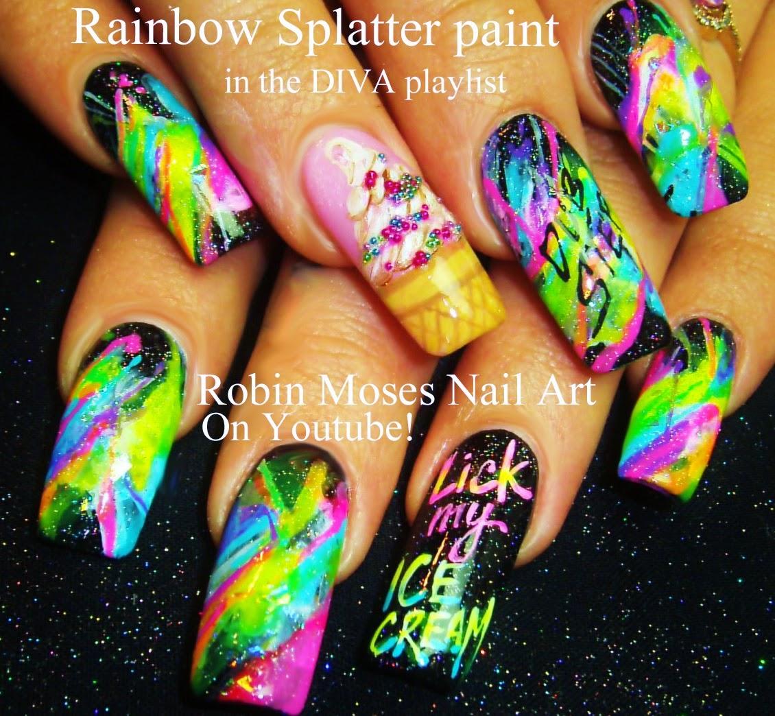 """Robin Moses Nail Art Designs: Robin Moses Nail Art: """"long Nail Art"""" """"nailswag"""" """"nail"""