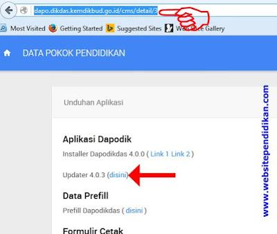Download Aplikasi Dapodik/Dapodikdas Versi 4.0.3
