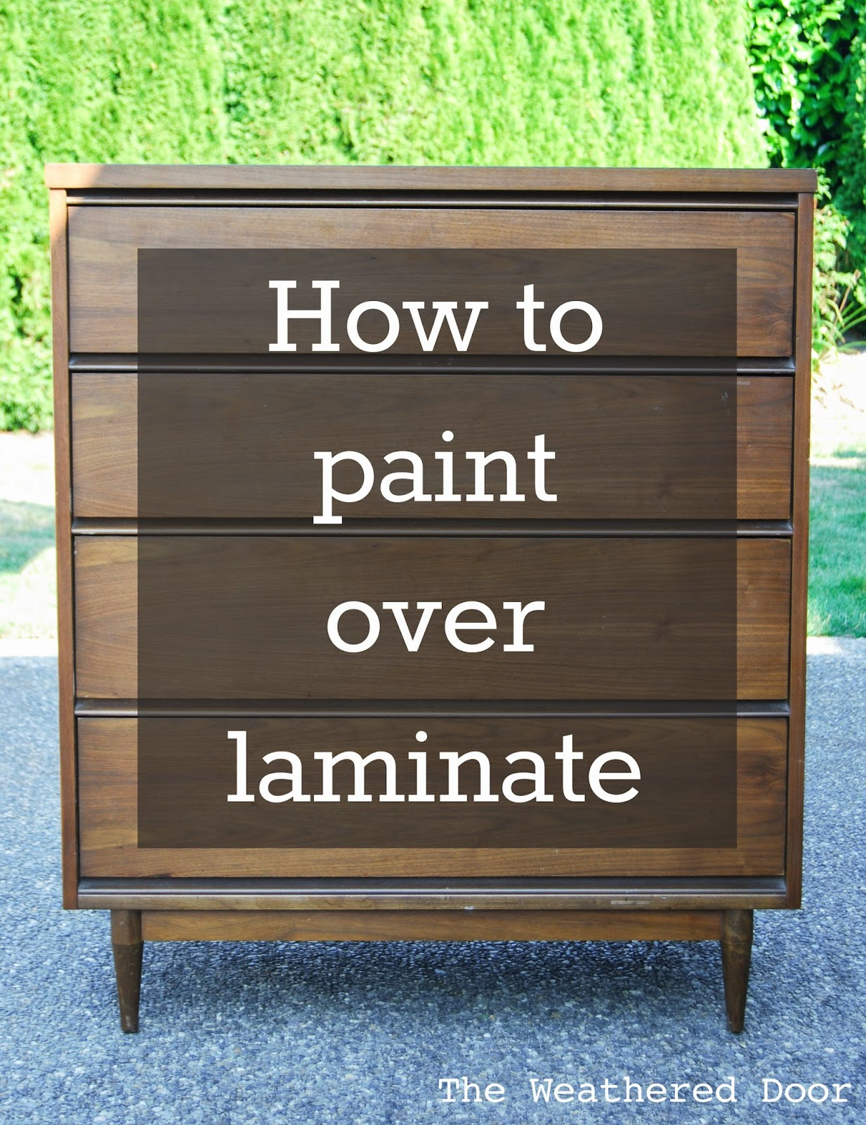 how to paint finished wood furniture furniture design ideas