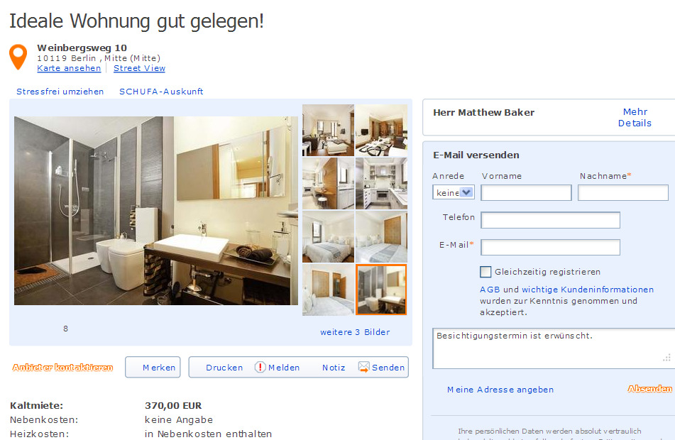 ideale wohnung informationen ber wohnungsbetrug. Black Bedroom Furniture Sets. Home Design Ideas