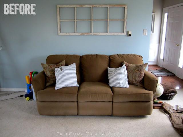Faux sofa table tutorial east coast creative blog