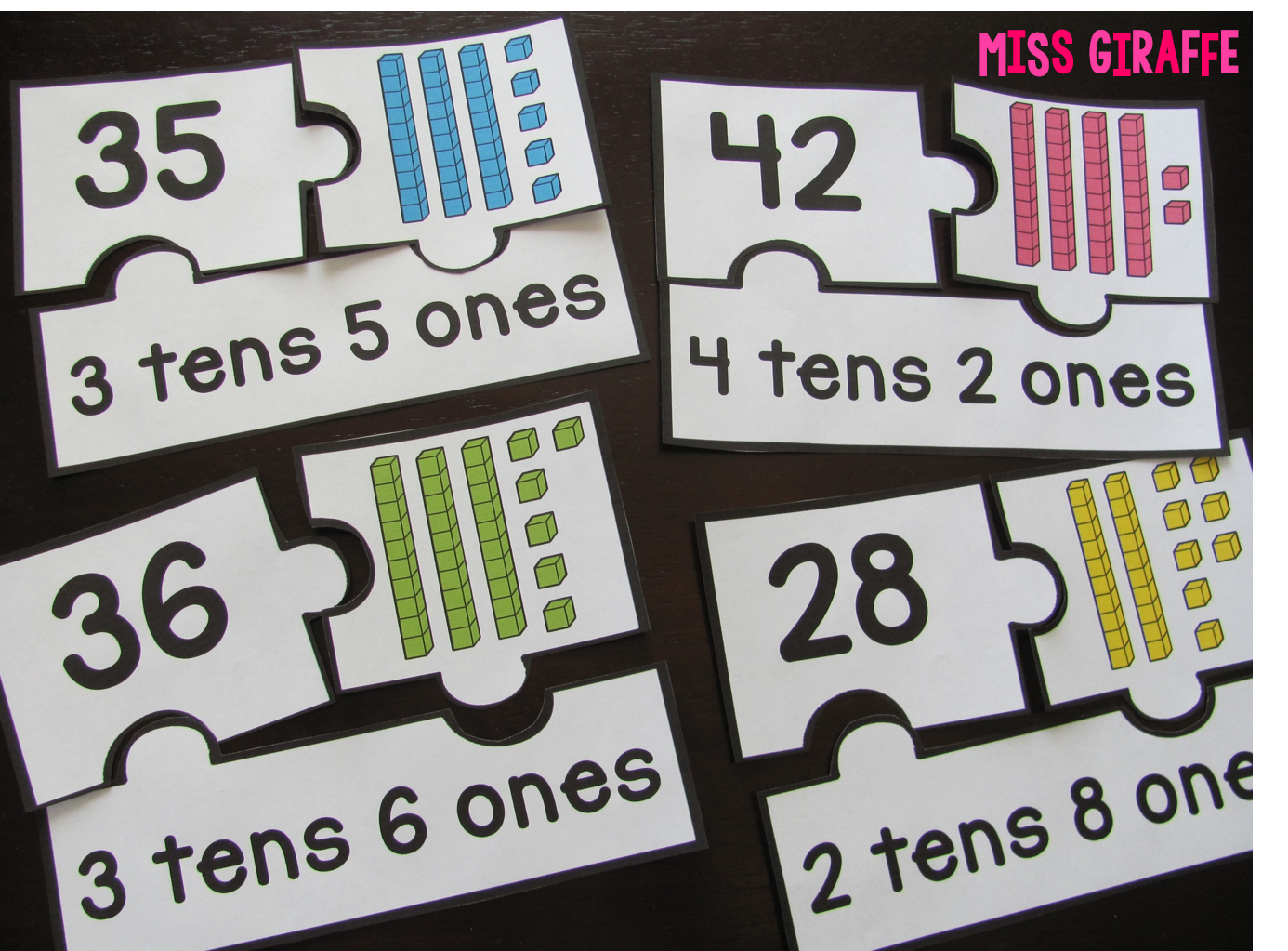 Place value centers and activity ideas galore! Place value puzzles to ...