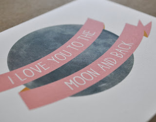 Etsy.com I love You to the Moon And Back Illustrated Etsy Stalkers