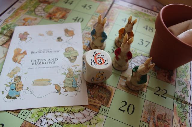 beatrix potter board game