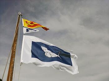 La bandera de l'Slow Sailing - Navegació Tranquil·la