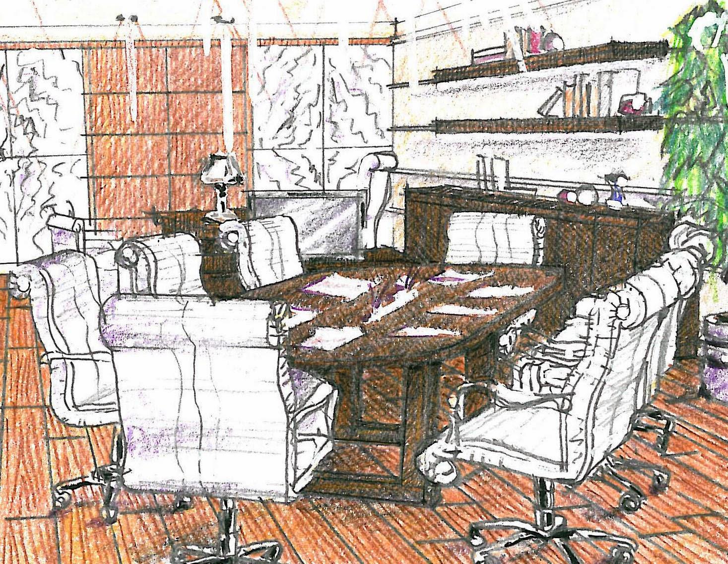 vent'anni di disegni dell'arch. antonio saporito: ?disegno di ... - Disegno Arredamento Interni Gratis