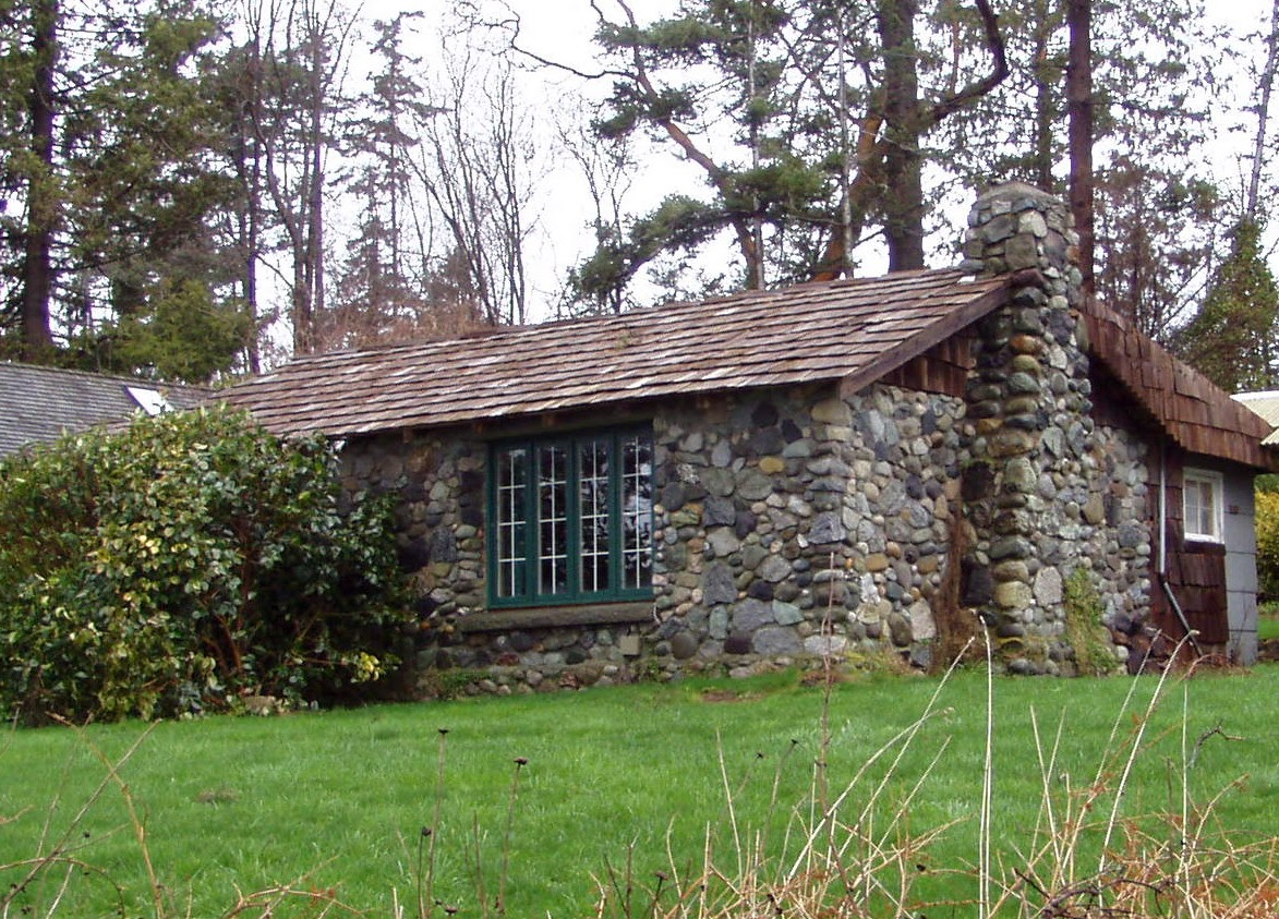 A Stone Cottage In The Woods