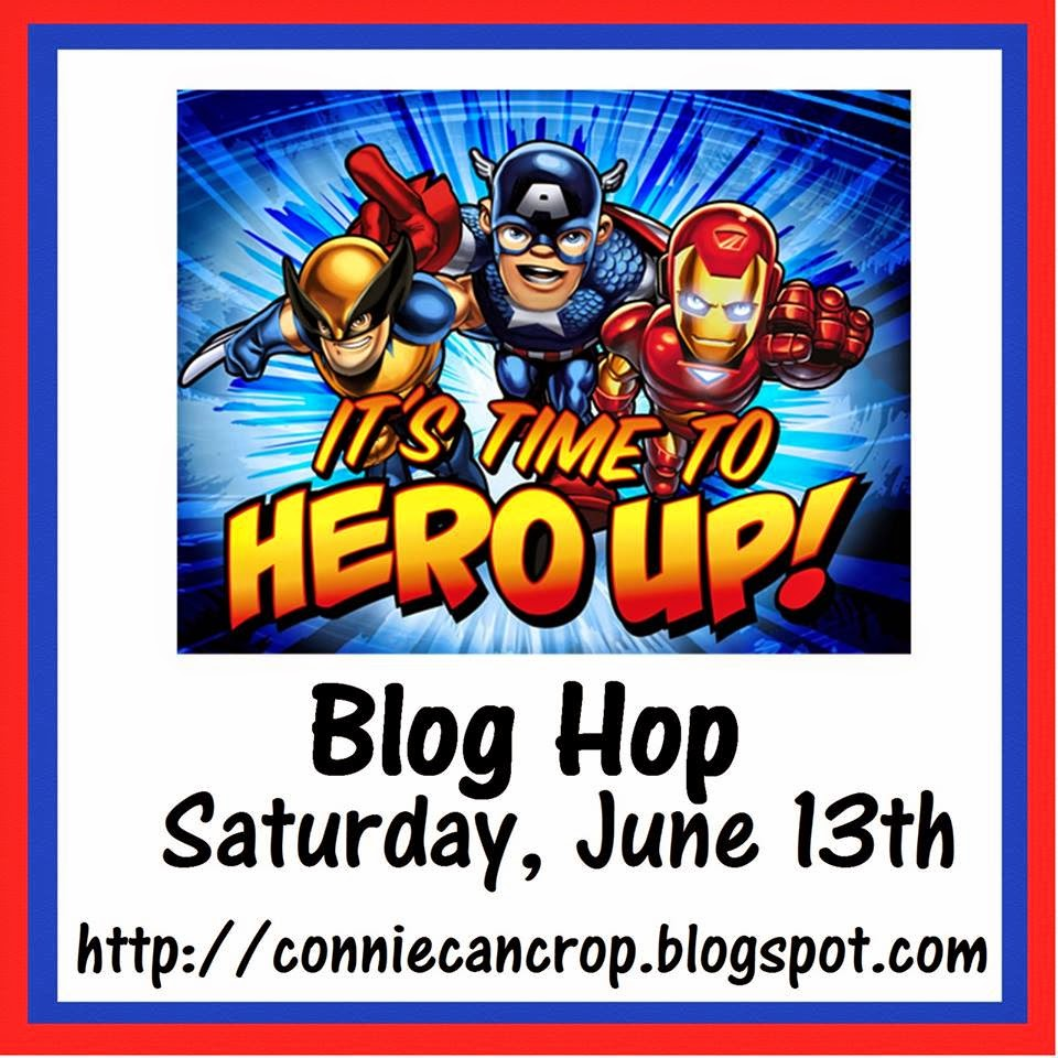 It's Time to Hero Up! Blog Hop