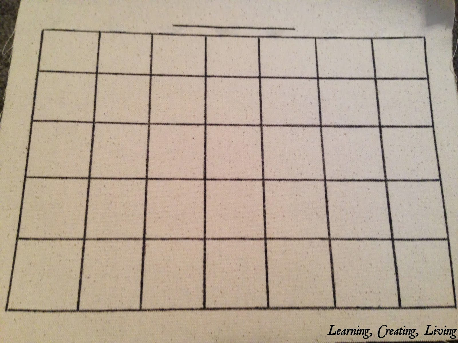 Diy dry erase calendar katelyn chantel blog you can refer back to my menu board here i made 7 columns and a line at the top to write down the month all with a ruler and permanent marker solutioingenieria Image collections
