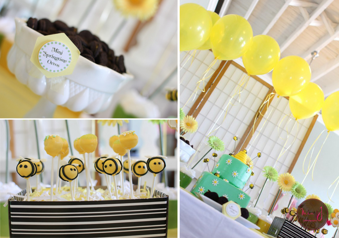 Baby Shower Food Ideas Bumble Bee Theme