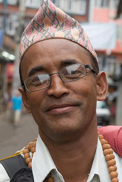Nepalese Face / Portrait - Twarze / Portrety Nepalu