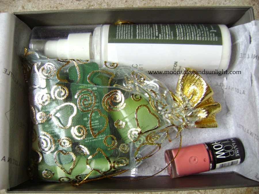 A new box in Beauty box town! The msm box!!
