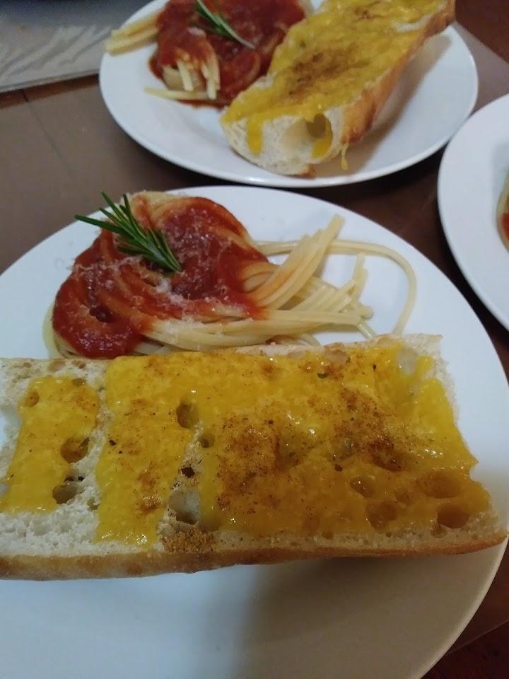 Pasta Dinner by Erik