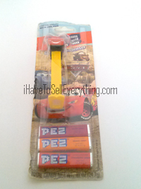Cars 2 McQueen Pez candy dispenser