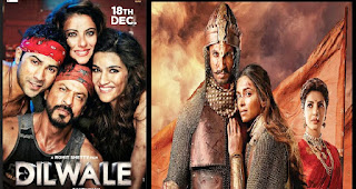 Big Battle in Bollywood : Dilwale Vs BajiRao Mastani