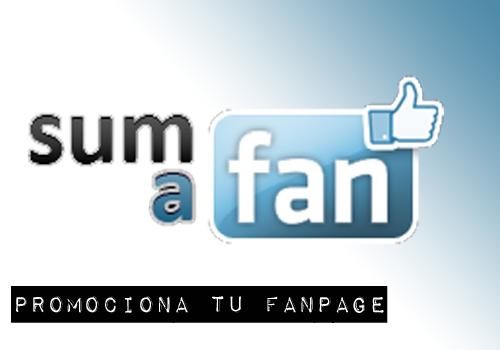 SumaFan una opción para promocionar tu FanPage en Facebook