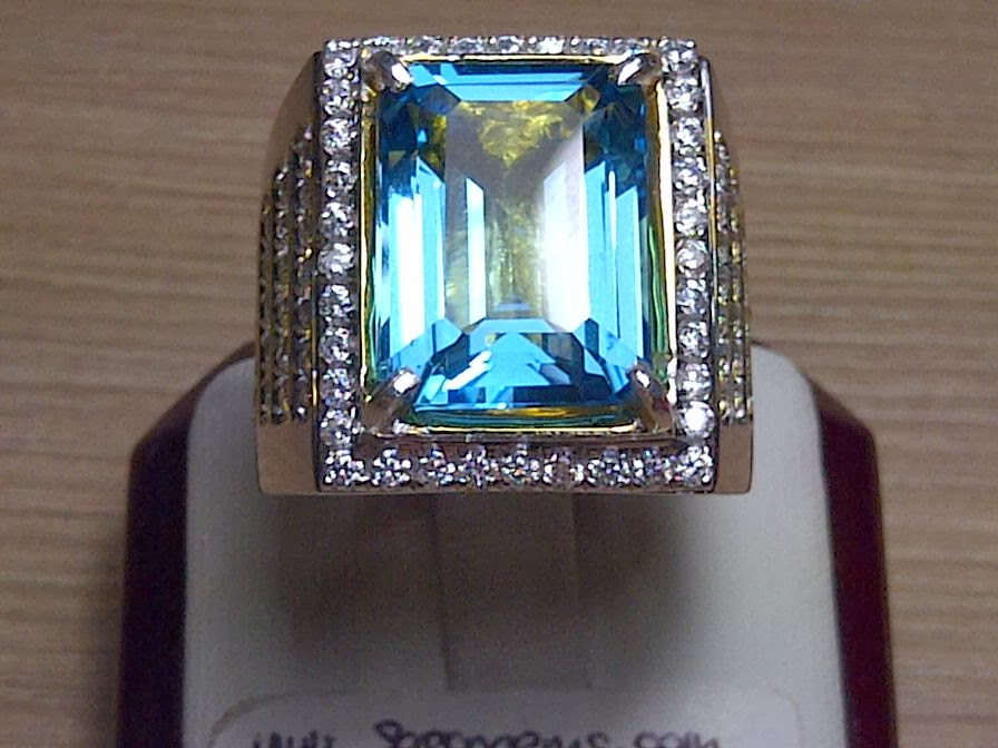 14,90ct NATURAL BLUE TOPAZ