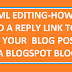 How to add reply link to your blogger blog posts