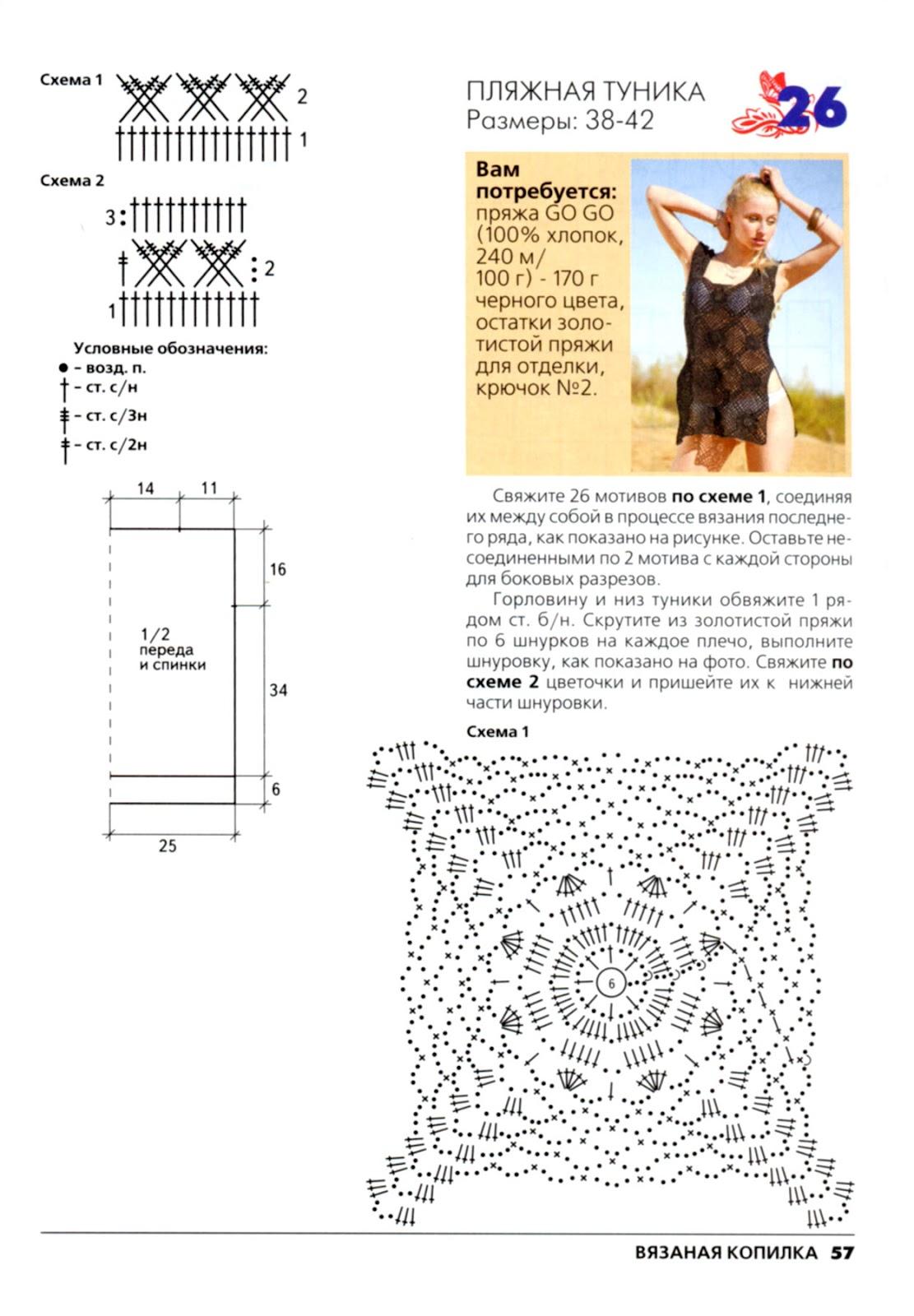 Вязание копилка схем крючком и спицами