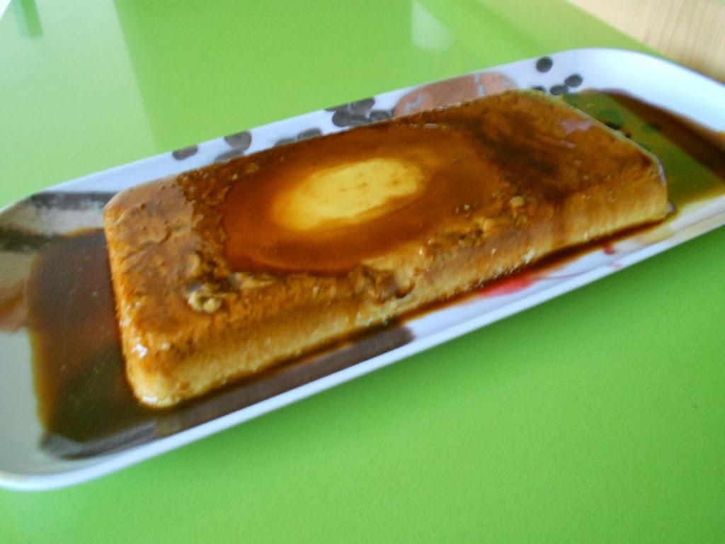 Copiando recetas flan de queso de untar - Postres con queso de untar ...