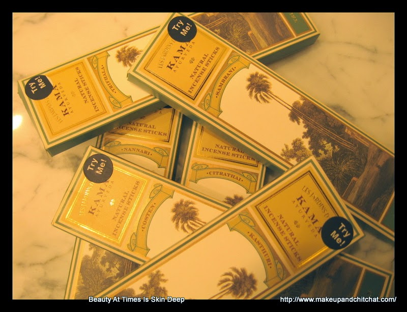 Kama Ayurveda Incense sticks
